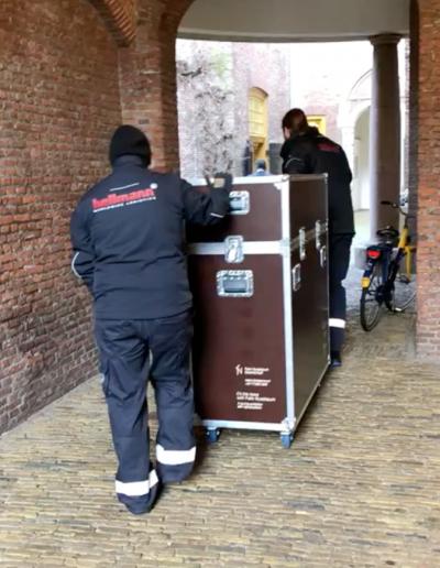 »Die Wanderausstellung ›Unterwegs mit Felix Nussbaum‹ erreicht Haarlem.«, 25.2.2020, © Natasja Slewe