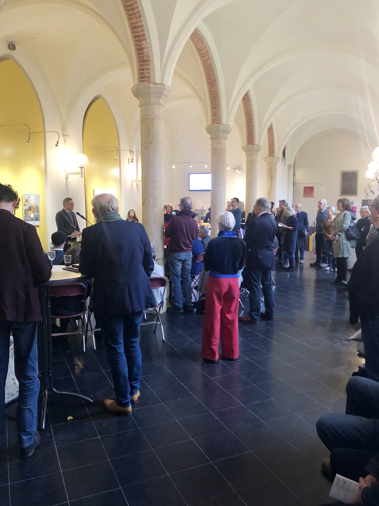 Ausstellungseröffnung Rathaus in Haarlem, NL