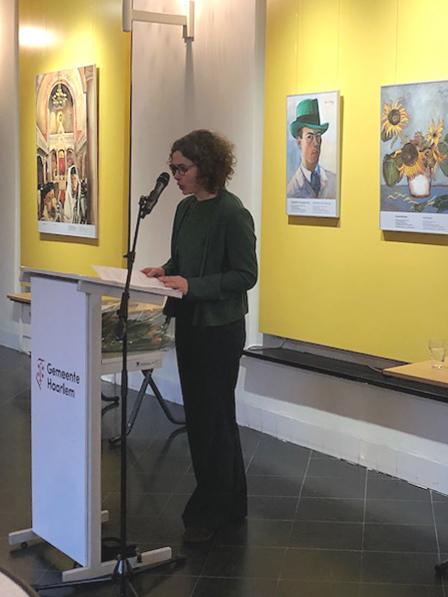 Anne Sibylle Schwetter, Kuratorin Sammlung Felix Nussbaum im Museumsquartier Osnabrück