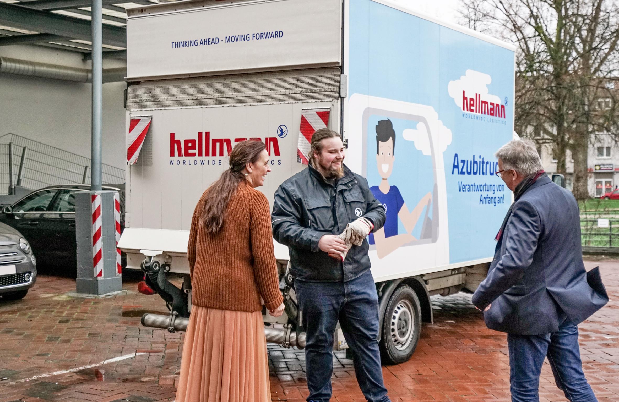 Agentur sec und Hellmann Logistik