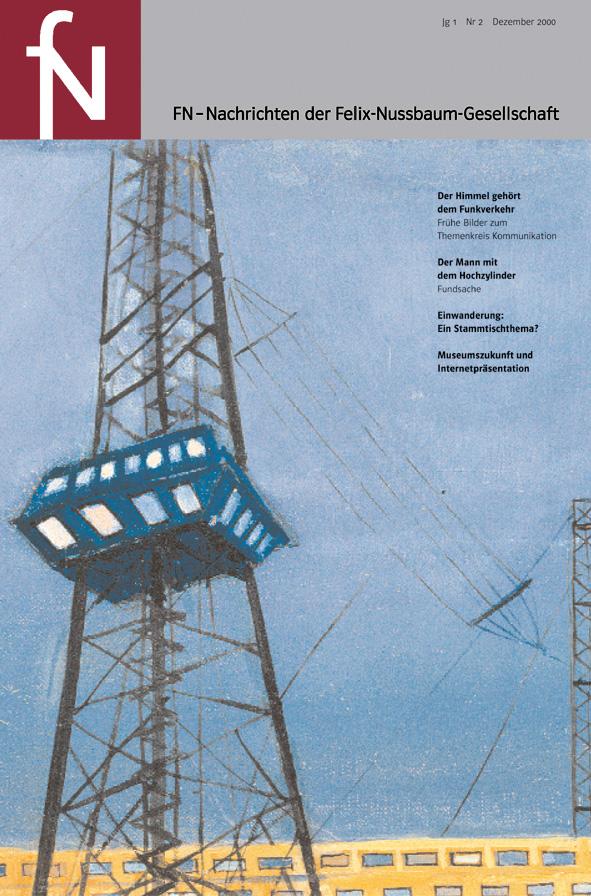 Cover fN-Nachrichten Jg01 Nr2 Dezember 2000