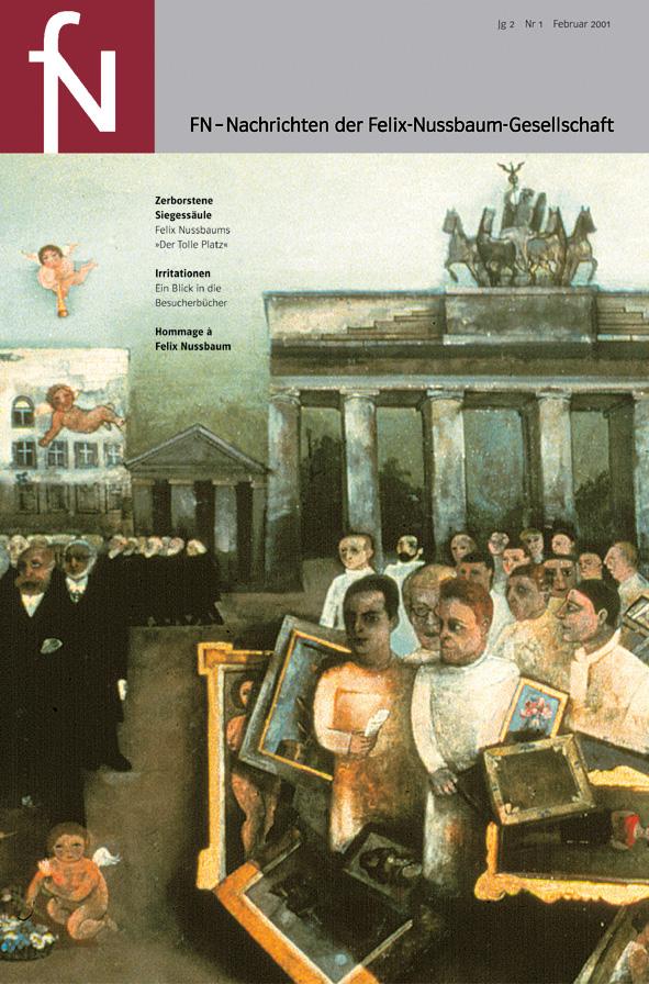 Cover fN-Nachrichten Jg02 Nr1 Februar 2001
