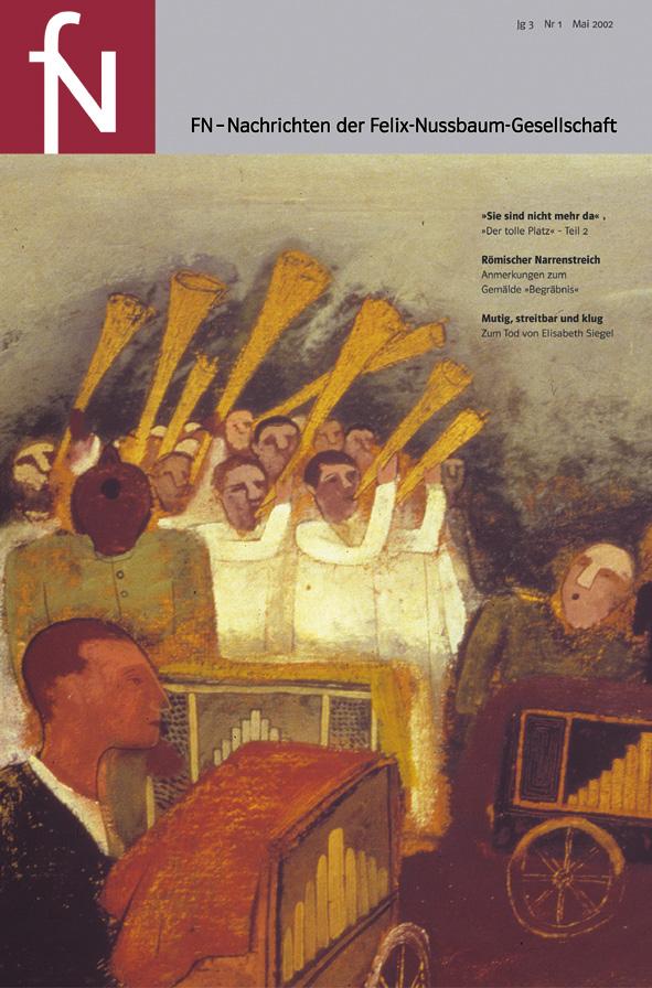Cover fN-Nachrichten Jg03 Nr1 Mai 2002