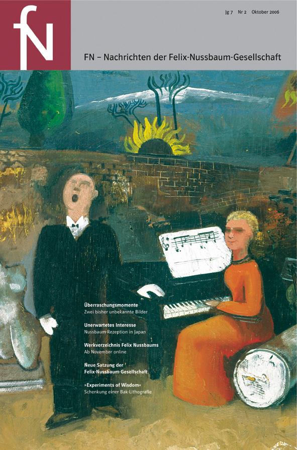 Cover fN-Nachrichten Jg07 Nr2 Oktober 2006